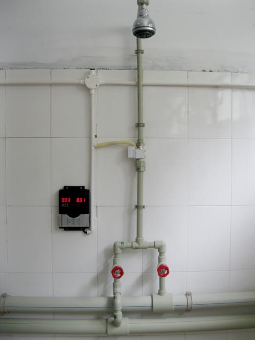郴州IC卡水控系統 刷卡洗澡設備 IC卡節水系統