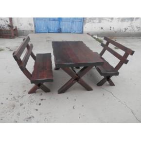 唐山碳化木桌椅南昌酒吧桌椅沈阳实木桌椅锦州遮阳伞