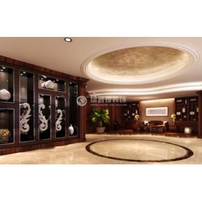 办公室装修设计_中山市新展办公楼装饰设计效果图