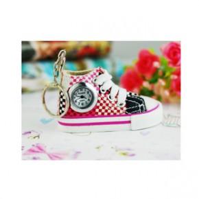 D日韩卡哇伊挂表创意手表时尚鞋子型挂件表多种颜色及样子随机发