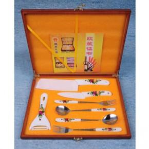 陶瓷刀7件套厨房用品刀具实用开业促销礼品定制LOGO