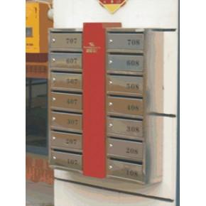 不锈钢信报箱,别墅信报箱,小区信报箱,信报箱定制