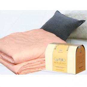 特蚕丝被 被子蚕丝夏凉被家纺被芯粉色1.8*2.1米 500克