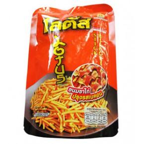 泰国进口食品 莲花牌醇香薯条棒 Lotus日式烧烤酥脆薯棍28g 虾条