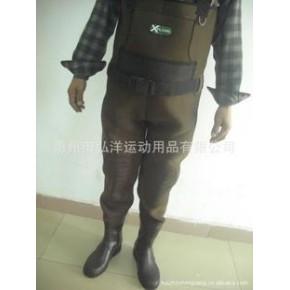 户外装备钓鱼裤 潜水料钓鱼裤 打猎钓鱼两用钓鱼裤.