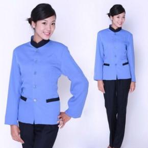 定做长袖保洁服 环卫保洁服 物业保洁服 保洁服尺寸款式样品