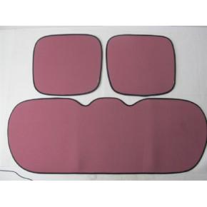 针织硅胶超薄整体汽车坐垫九件套