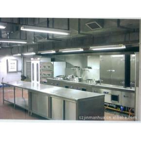深圳龙华不锈钢整体橱柜定制,专业厨具设备制造商