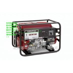原装日本泽藤本田汽油发电电焊机SHW190H