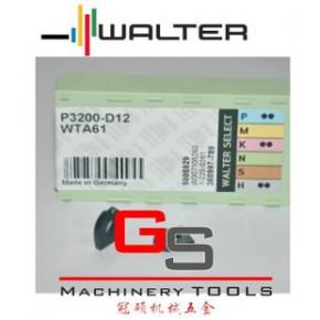 瓦尔特WALTER精铣刀片P3200-D12 WTA61