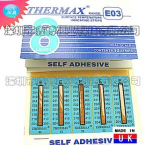 8格E03测温纸 英国TMC测温纸 英国温度美 英国THERMAX