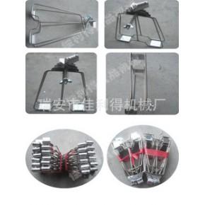 JLD-系列不锈钢烤鸭夹子烤鸭炉夹子烤鸡架子烧烤工具