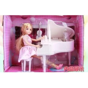 益智島玩具 H32A 夢幻鋼琴家  芭比娃娃 樂吉爾芭比 女孩玩具