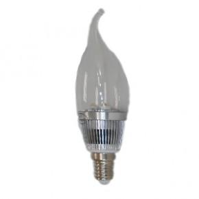 3W led蜡烛灯银色金色灯体(尖尾式)