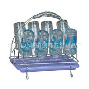 CQ5003创奇酒杯架,铁线杯架,金属杯架,杯架,家用杯架
