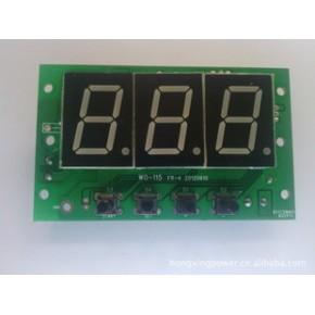 直流电压表 计时器 倒计时控制板 定时器 数显电压表