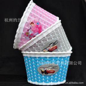 优贝/祺娃娃等儿童自行车/蛙式车/三轮车用塑料抗压车篮 常备库存