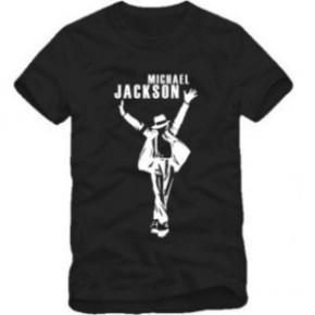 情侣男女装迈克尔杰克逊MJ纪念款纯棉短袖T恤潮流TEE 批发