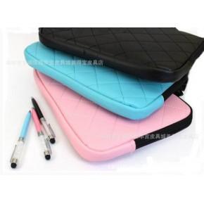 格纹手提笔记本电脑包 菱格手提电脑包