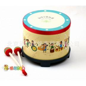 原单 奥尔夫乐器 韩国早教可爱宝宝敲鼓 音乐玩具假一赔十