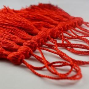 饰品窗帘鞋类DIY穗子配件 针织服装棉线针织用品 喜帖小流苏