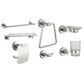 不锈钢浴室挂件组合七件套 BT1000-7