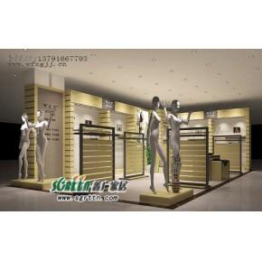 潍坊服装展柜展台展示架柜台货架1109