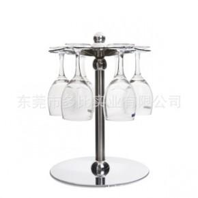 创意旋转杯架 六只装高脚杯架 单层红酒杯架现货批发 小额起批