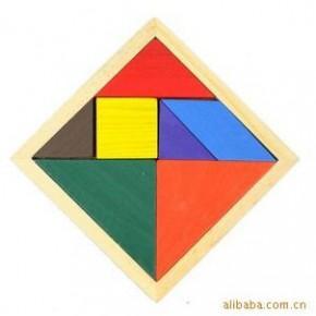 G14   木质玩具 益智七巧板 脑力开发玩具 儿童玩具