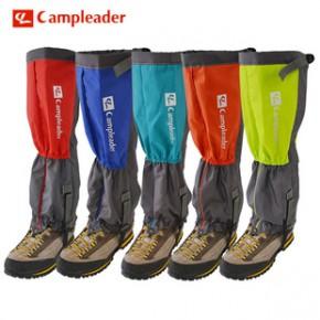 凯普力德 双层雪套户外防水滑雪骑行登山脚套雪套雪爪冰爪 双层款