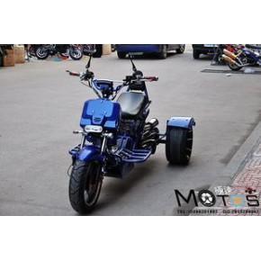 150三轮祖玛气动车 无极变速三轮气动踏板车 皮带传动休闲助力车