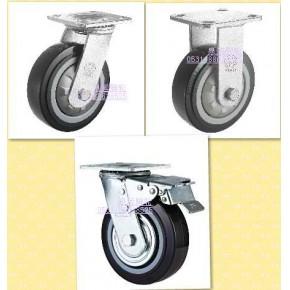中国山东脚轮厂  聚氨酯轮