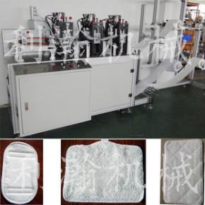 鸿达品牌机械厂销 超细纤维拖把布机 全自动拖把头机