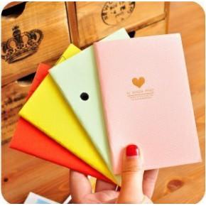 2061日韩国创意文具 可爱糖果色 卡通小号笔记事本 笔记本