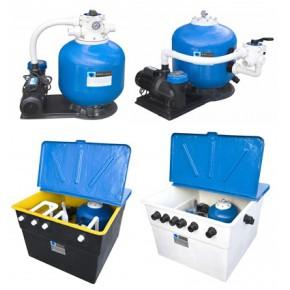 温泉泳池水景水处理水循环水设施 里维思专业一体机