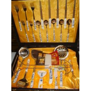 陶瓷刀 水果刀 套装餐刀24件 套装陶瓷刀礼品 厨房餐具刀具套装