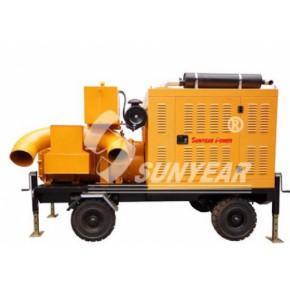 抽水车、移动泵站、防汛抗旱拖车