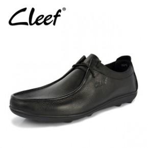 爆款批发 品牌男士休闲皮鞋 真皮男鞋软皮鞋子 男时尚牛皮鞋