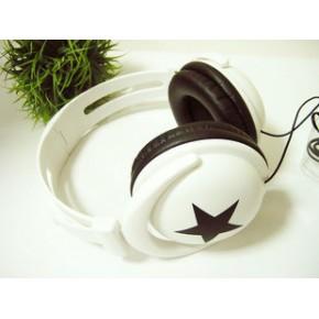 大星星耳机 头戴式耳机 MP3耳机 MIXSTYLE潮流耳机