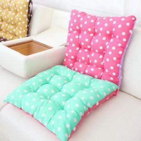 韩版点点糖果色拼色沙发坐垫 椅垫 汽车座垫厂家批发234G
