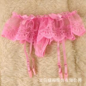 一件代发吊带袜蕾丝花边 性感吊袜带 欧美塑身大码长筒袜防脱配件