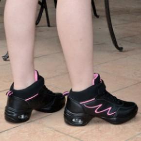 跳舞鞋952广场舞鞋 塑身女鞋 健美女士真皮舞蹈鞋批发女运动鞋