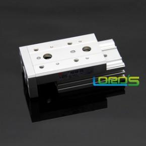 精品SMC型MXS8-10 缸径8mm行程10进口导轨带磁双作用滑台气缸