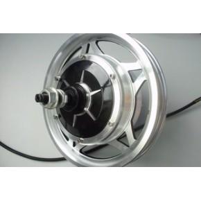 无刷无齿112系列轮毂电机48 v 350 w后轮:12寸一体化铝轮