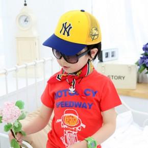 儿童网帽 亲子帽 遮阳棒球帽 儿童太阳帽 批发儿童帽子etwm850