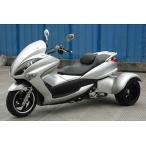出口三轮摩托车 正三轮踏板摩托车 300CC  豪华时尚