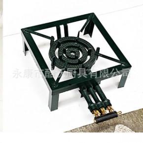 2013酷沃 外贸铸铁/角钢 三管燃气灶具 猛火铸铁烧烤炉 SGB-07A