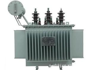 三相油浸式电力配电变压器