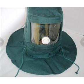 防尘面罩 喷漆砂 打磨 防尘全面具  抛光头罩 帽子