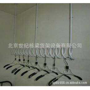 螺旋展示架服装展示架 上墙壁挂铁艺烤漆服装架 服装店货架